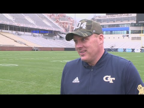 Georgia Tech coach Geoff Collins ... on hitting the ground running in January