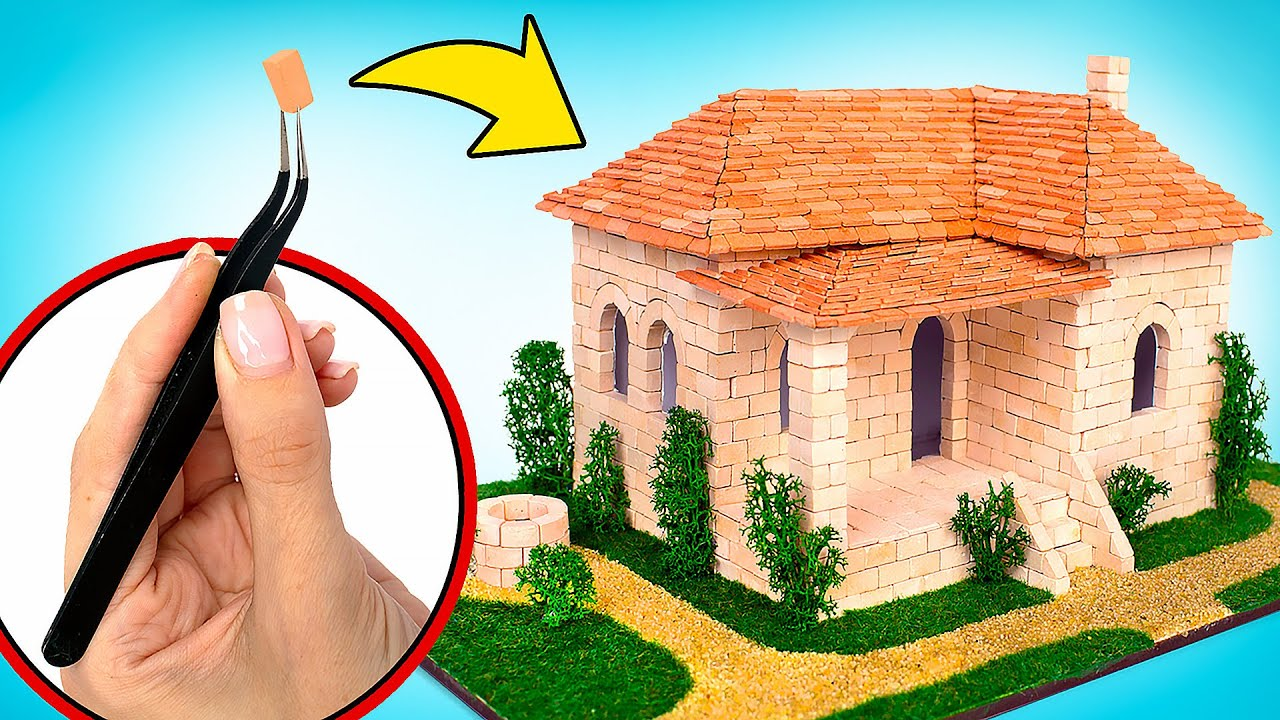 بناء منزل إسباني جميل