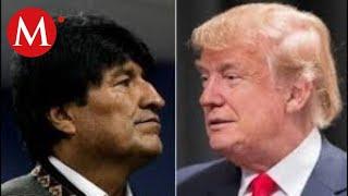 Evo Morales condena la decisión de Trump de reconocer el gobierno de Áñez