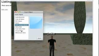 Open Wonderland communication with a REST webservice
