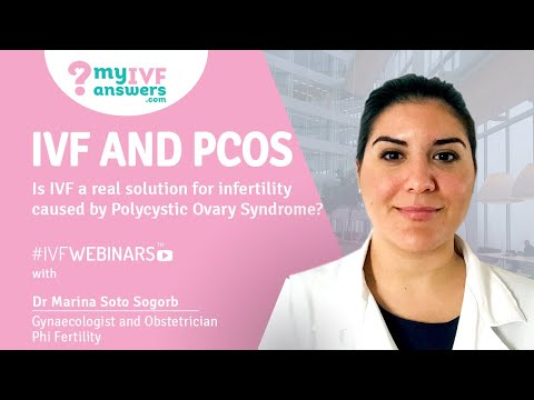 IVF and PCOS. Is it a real solution for infertility caused by this condition? #IVFWEBINARS