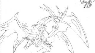 Neo dragonoid drawing