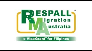 Vision and Mission Statements by Jose Respall for Migrating to Australia from the Philippines.