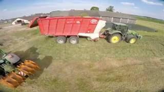 Zbiór trawy 2016 Krzysztof Kruszewski Usługi Rolnicze 500 080 666