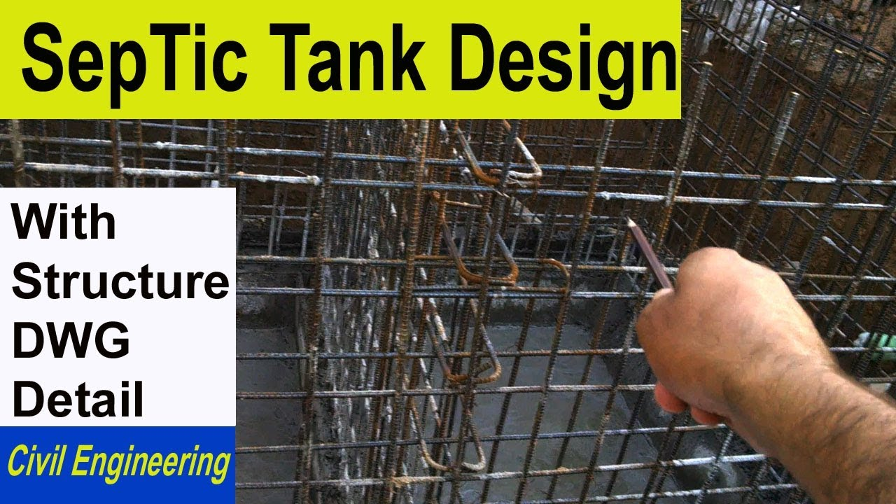 Septic Tank Design How To Design Septic Tank Design Of Septic