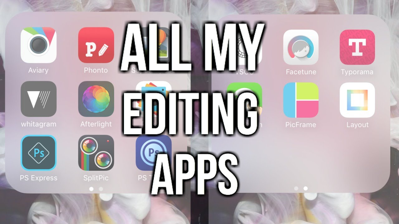 Best Apps for Instagram Edits!