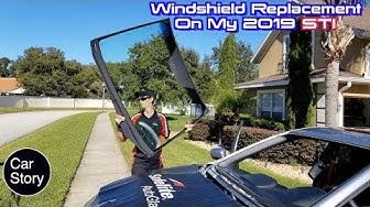 Broken Windshield Replacement For My 2019 WRX STI
