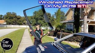 Safelite Broken Windshield Replacement For My 2019 Subaru WRX STI