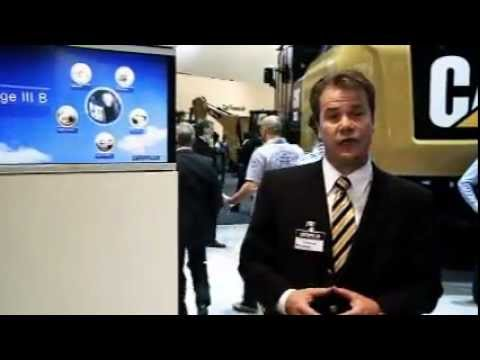 BAUMA 2010 - Emissions Regulations - Stage III B Europe