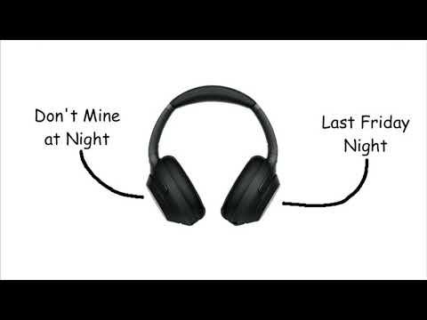 Don't Mine Last Friday Night (Mashup)
