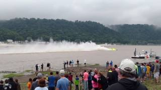 Madison Regatta 2016 Final race with U-27 Dalton Industries blow over