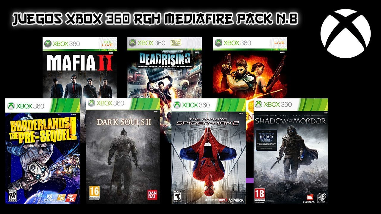 Juegos Xbox 360 Rgh Espanol Mediafire Pack 8 Youtube
