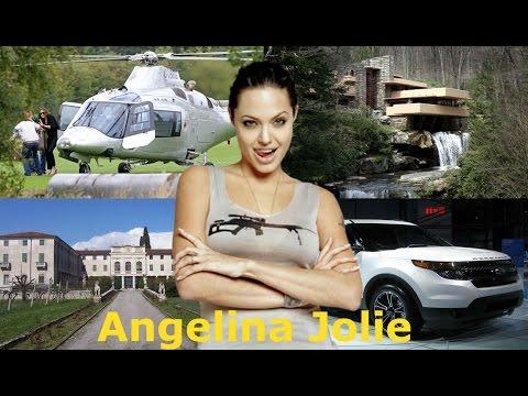 ★Angelina Jolie's Net Worth ► Biography ►House ► Cars ► Income ►– 2017