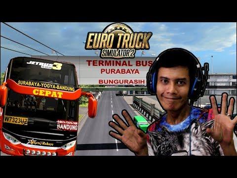 ENAK BANGET INI BUS SHD JETBUS 3 - EURO TRUCK SIMULATOR 2