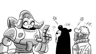 Overwatch Nanny Orisa [Overwatch Comic]