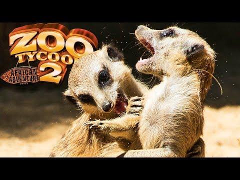 Zoo Tycoon 2 African Adventure - Família De Suricatos, Grandes Desafios! | (#1) (PT-BR)