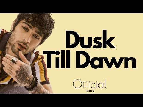 ZAYN ‒ Dusk Till Dawn  ft. Sia EXCLUSIVE 2017