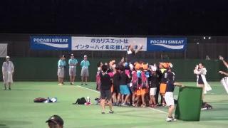 【ソフトテニス】7/25 会津総合運動公園テニスコート 13コート thumbnail