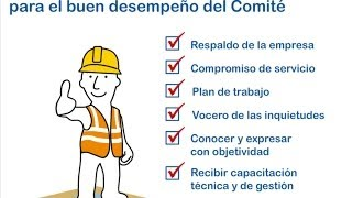 Repeat youtube video Comité de Seguridad y Salud en el Trabajo