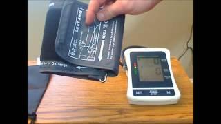 LotFancy blood pressure Monitor Model Bp 1305