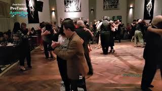 Orquesta de tango y tango pista en Salón Canning, Cuarteto Valle