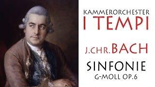 J.Chr.Bach - Sinfonie Nr.6 in g-moll, op. 6, Kammerorchester I TEMPI, Dirigent - Gevorg Gharabekyan