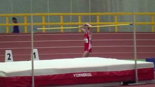 Mateusz Przybylko Hochsprung 2,10m Westdeutsche Hallenmeisterschaften 2010