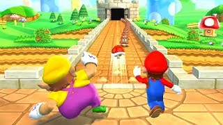 Mario Party 9 MiniGames - Peach vs Mario vs Luigi vs Wario (Master CPU)