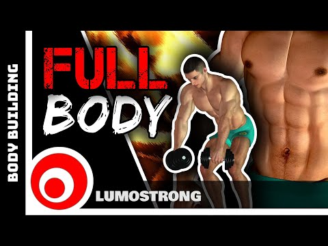 Full Body Workout At Home With Dumbbells Giant Sets Strength And Muscle