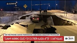 Alaska earthquake today: Live coverage of aftermath of 7.0 magnitude quake near Anchorage
