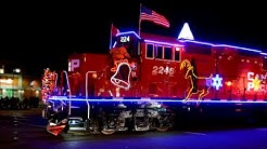 CP HOLIDAY CHRISTMAS TRAIN IN MONTREAL QUEBEC