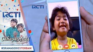 CAHAYA HATI - Yusuf Video Call Dengan Azizah [10 November 2017]