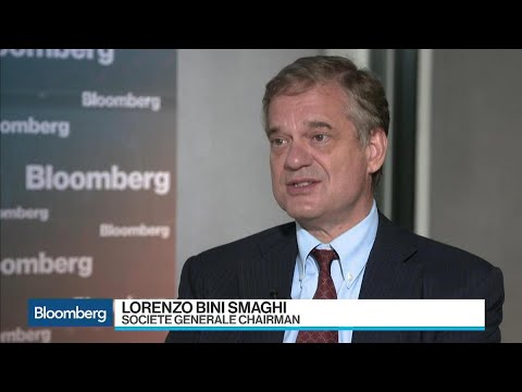 SocGen's Bini Smaghi Wants European Banks to Be Larger
