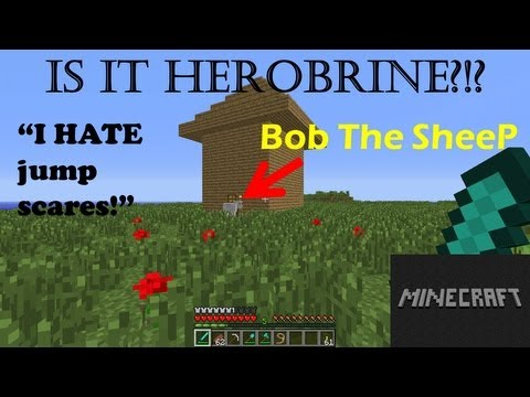 Is It Herobrine! - Jumpscs - Scary Moments MINECRAFT