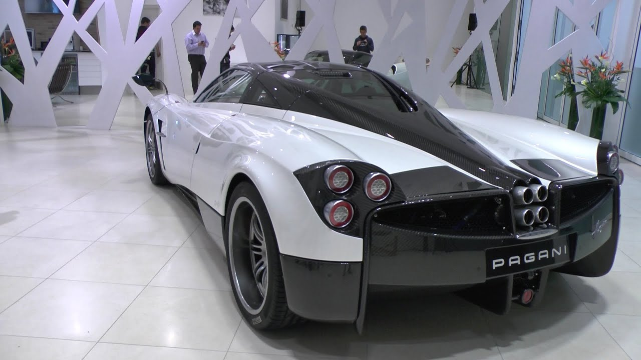 UK's 1st Pagani Showroom - Many Zonda's & Huayra's!! - YouTube