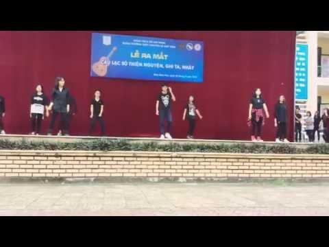 Mapsosa + Uptown Funk dance CNVR - Trường THPT Chuyên Lê Quý Đôn Điện Biên