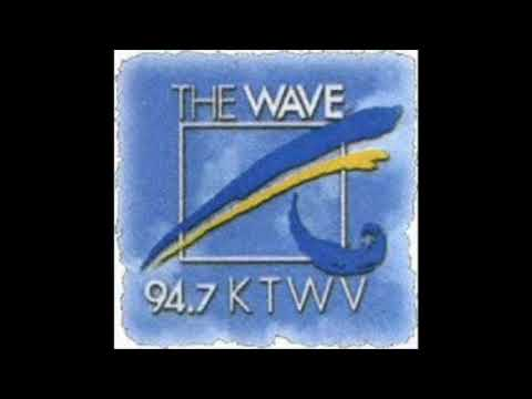 94.7 KTWV Los Angeles, The Wave - Nite Trax (March 1991)