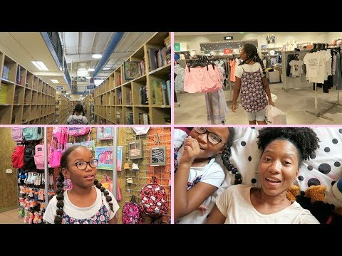 Back to School Shopping w/ a 5th Grader | Clothes, Shoes + School Supplies