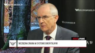 #RZECZoPRAWIE: Jeremi Mordasewicz - Walka ze skutkami obniżenia wieku emerytalnego