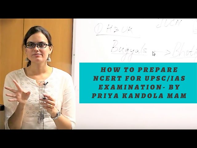 EDEN IAS - How to read NCERT for UPSC. Strategy connecting  NCERT to GS with Priya Kandola Class 2