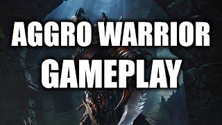 Aggro Warrior Gameplay