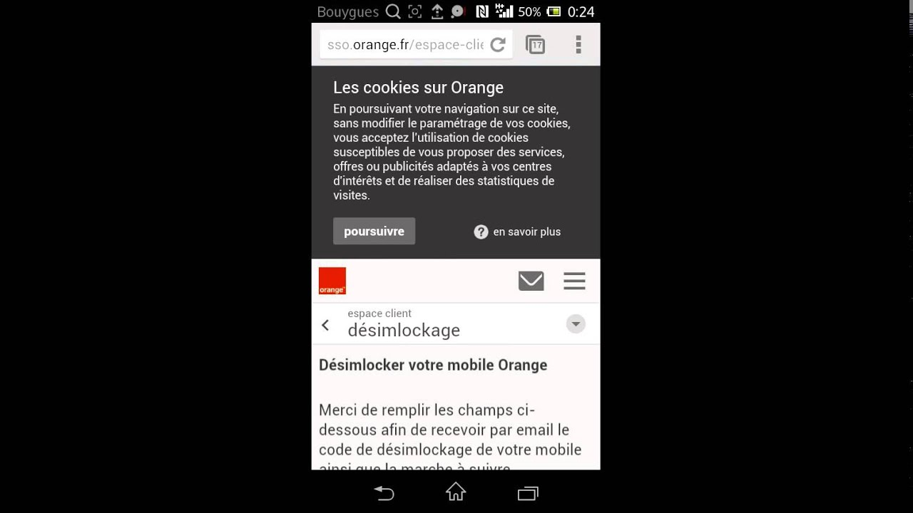 desimlocker iphone 4s orange pour free