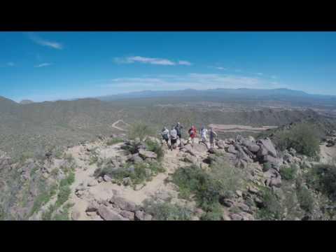 Sunrise Trailhead Peak - Fountain Hills, Arizona - March 12, 2017