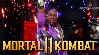 """Gambar cover The Most Fun Jacqui Variation Ever! - Mortal Kombat 11: """"Jacqui Briggs"""" Gameplay"""