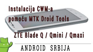 ZTE Blade Q,Q maxi,Q mini - ClockWorkMod recovery flash