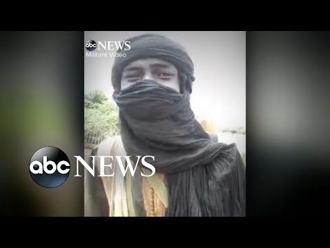 US intelligence authorities examining video of Nigerien militant group