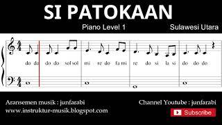 not balok si patokaan - piano level 1 - lagu daerah sulawesi - doremi