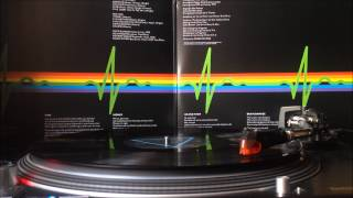 Pink Floyd - The Dark Side of the Moon Vinyl (Side A) (HQ)