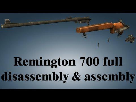 Remington Model 700: full disassembly & assembly