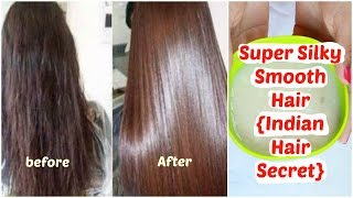 How To Get Super Silky, Shiny, Smooth Hair~ Hair Spa At Home in Simple Step